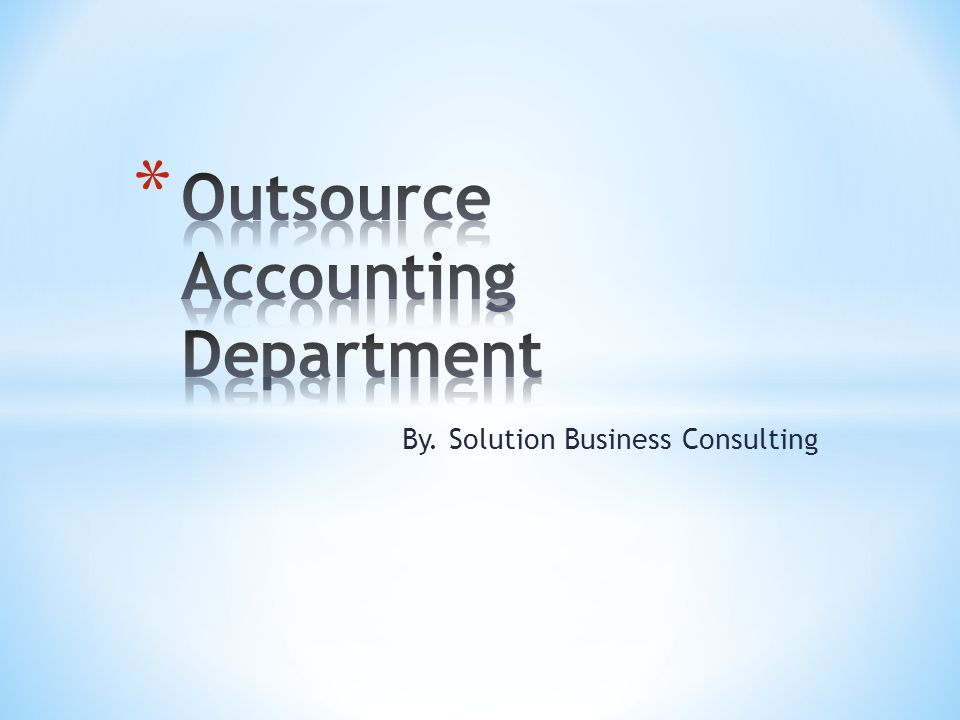 By. Solution Business Consulting