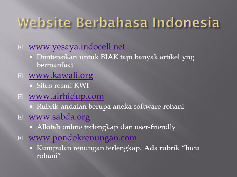  www.komunio.org www.komunio.org  Pusat informasi pastoral Keuskupan Surabaya