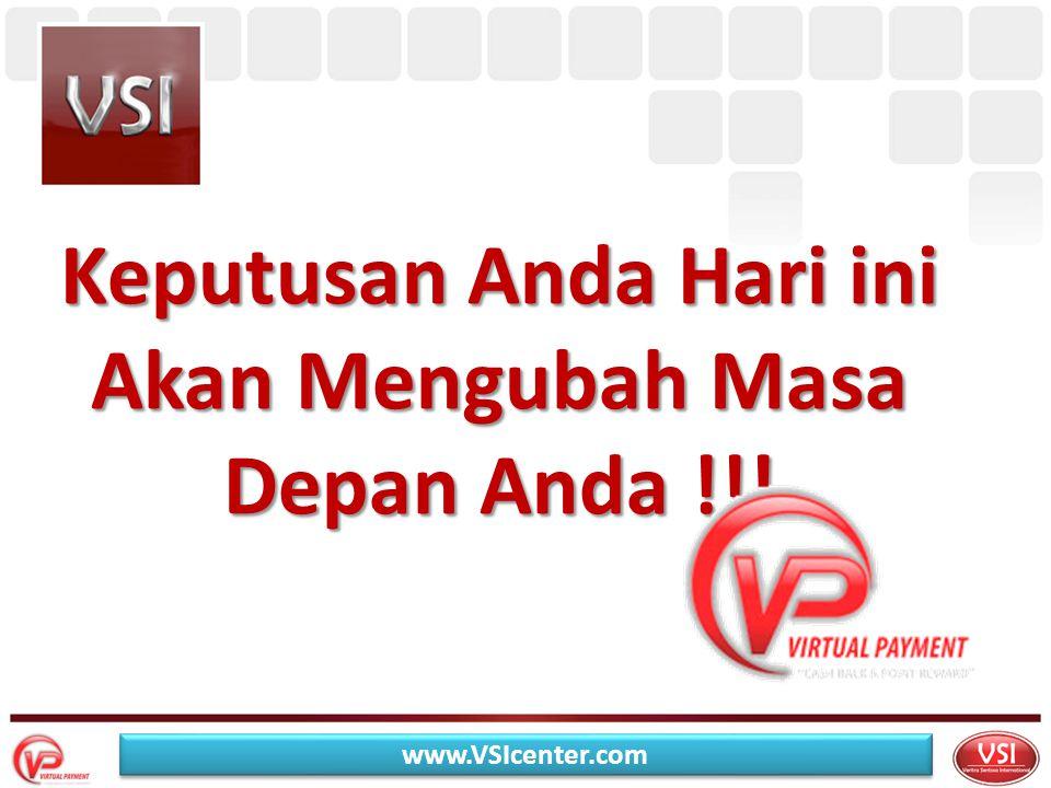 Keputusan Anda Hari ini Akan Mengubah Masa Depan Anda !!! www.VSIcenter.com