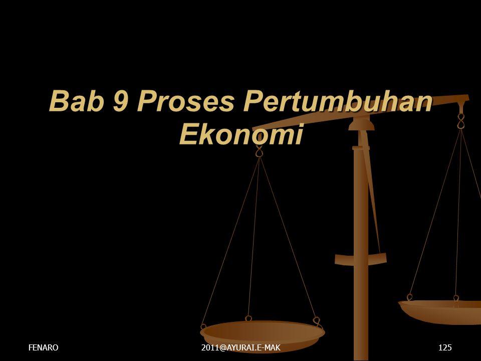 Bab 9 Proses Pertumbuhan Ekonomi FENARO2011@AYURAI.E-MAK125