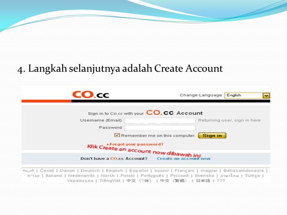 3. Bila nama domain yang anda kehendaki belum tersedia atau belum dipakai oleh orang lain maka akan tertulis nama domain anda is available kemudian kl