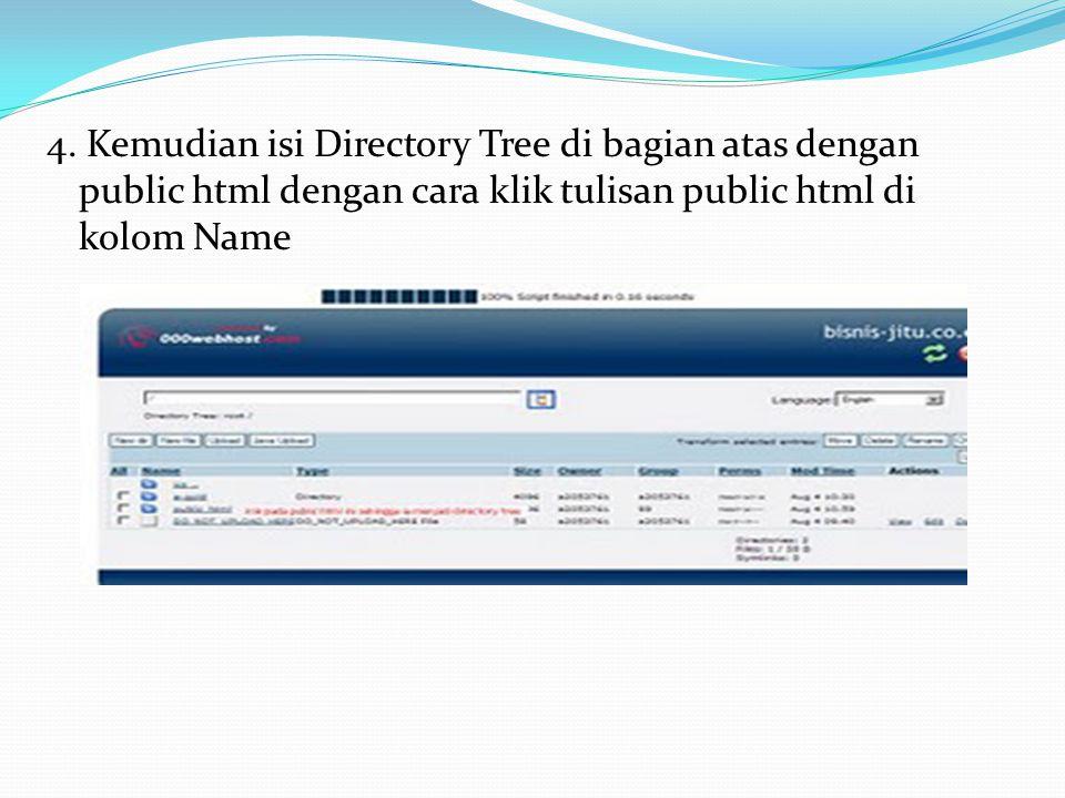 3. Kemudian pada bagian Files, klik File Manager