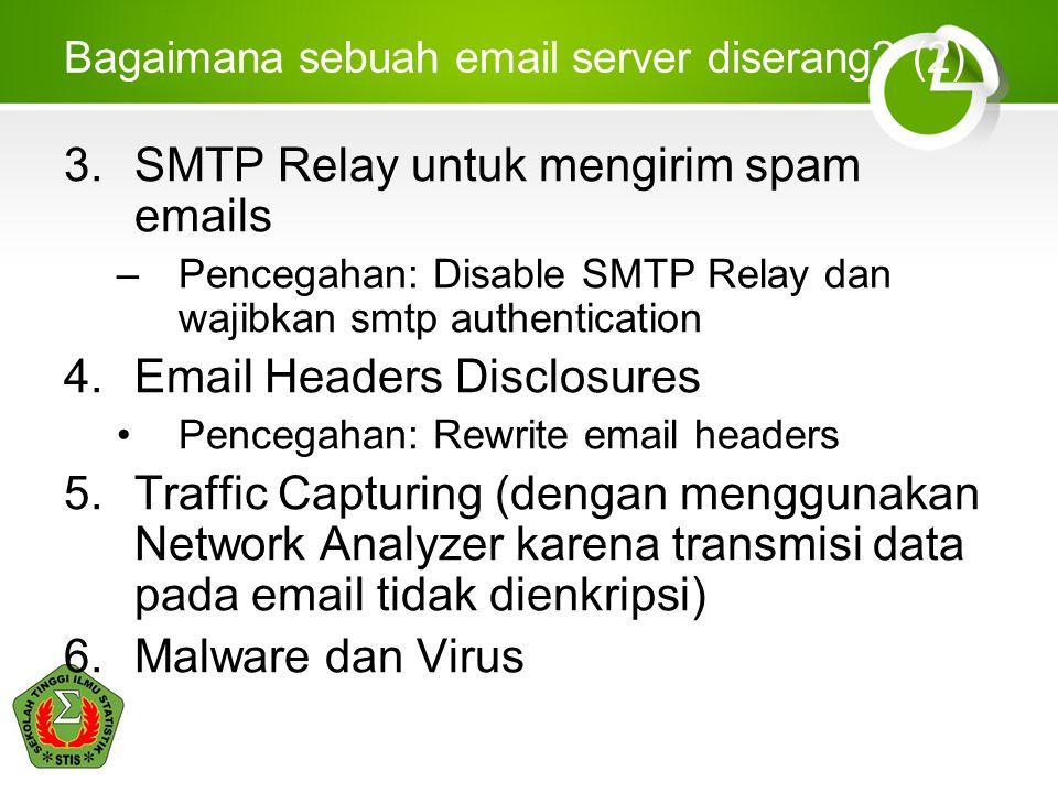 Bagaimana sebuah email server diserang.