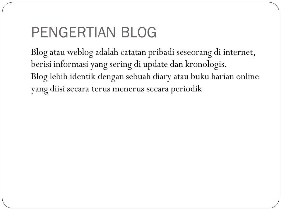 POST merupakan menu yang berfungsi untuk mengelola konten berupa tulisan yang kita akan atau sudah kita buat.