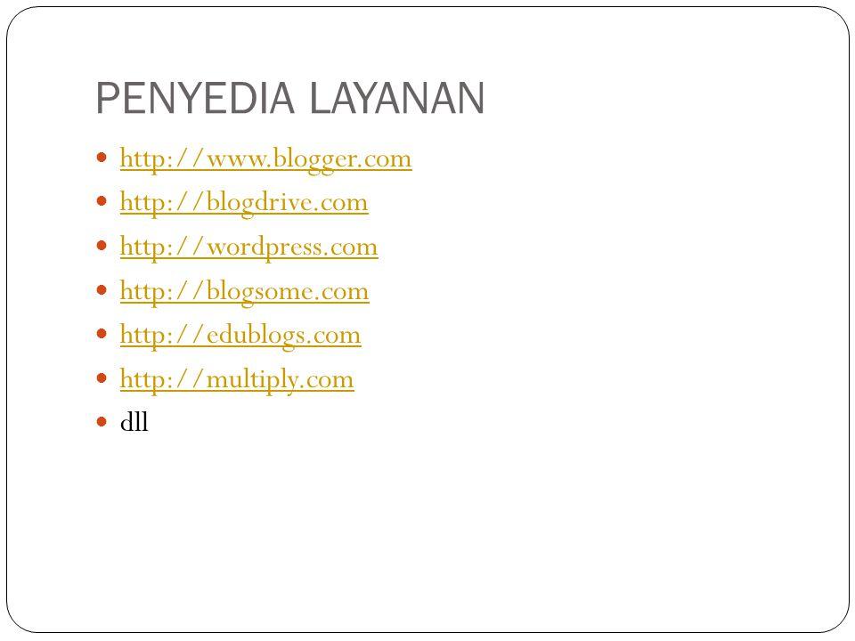 PAGES menu yang digunakan untuk menambah atau menghilangkan halaman statis yang ingin ditampilkan di website/blog Anda
