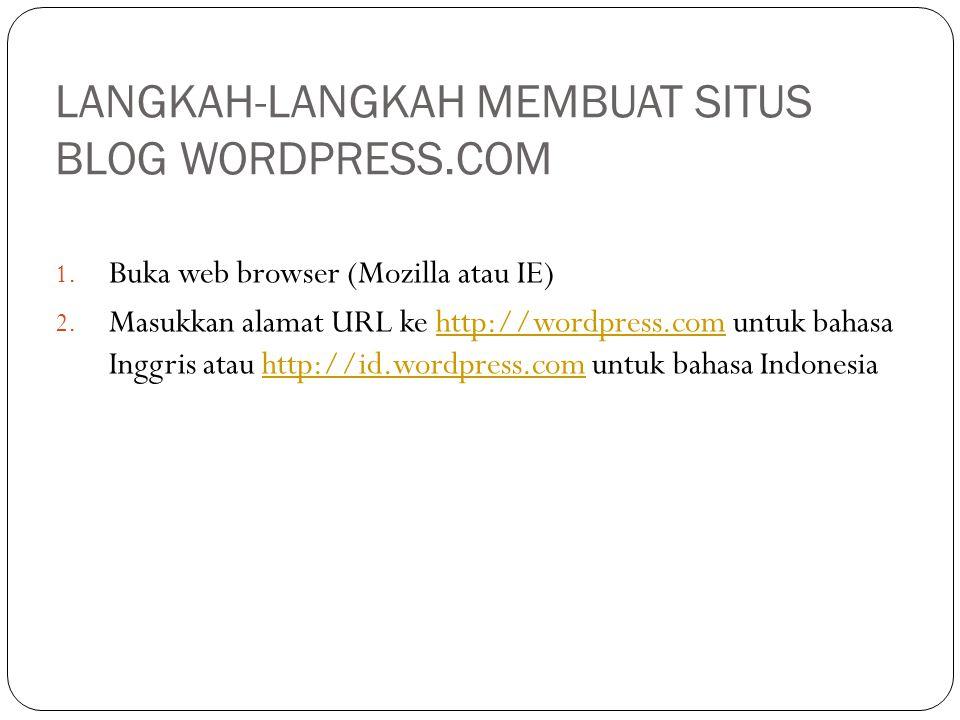APPEARANCE menu ini secara umum digunakan untuk mengatur tampilan website yang akan dilihat oleh pengunjung website Anda.