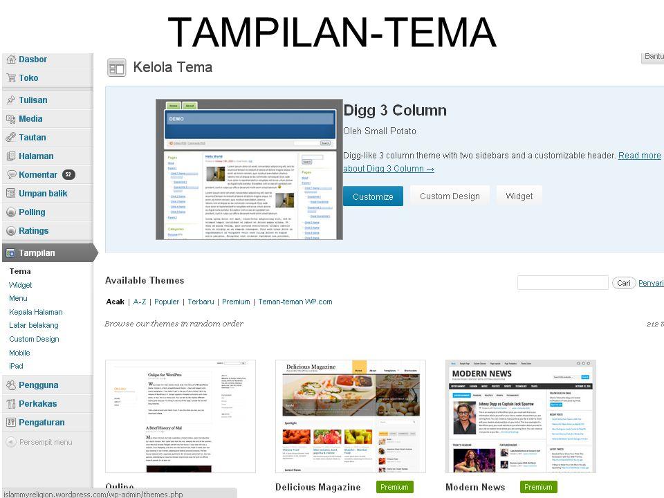 TAMPILAN-TEMA