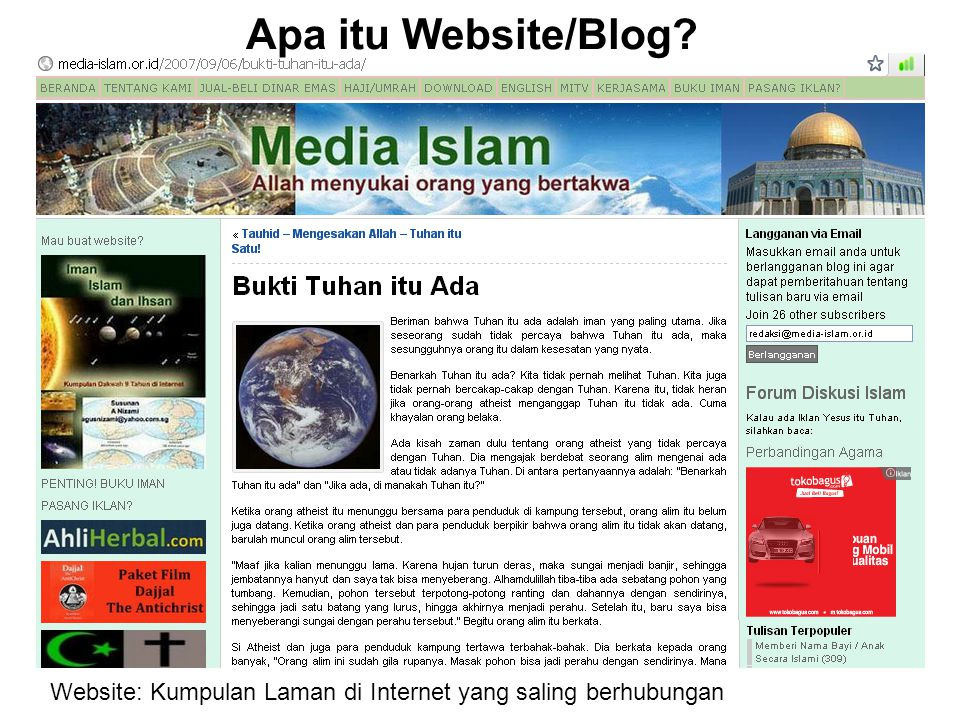 Untuk Apa Buat Website.