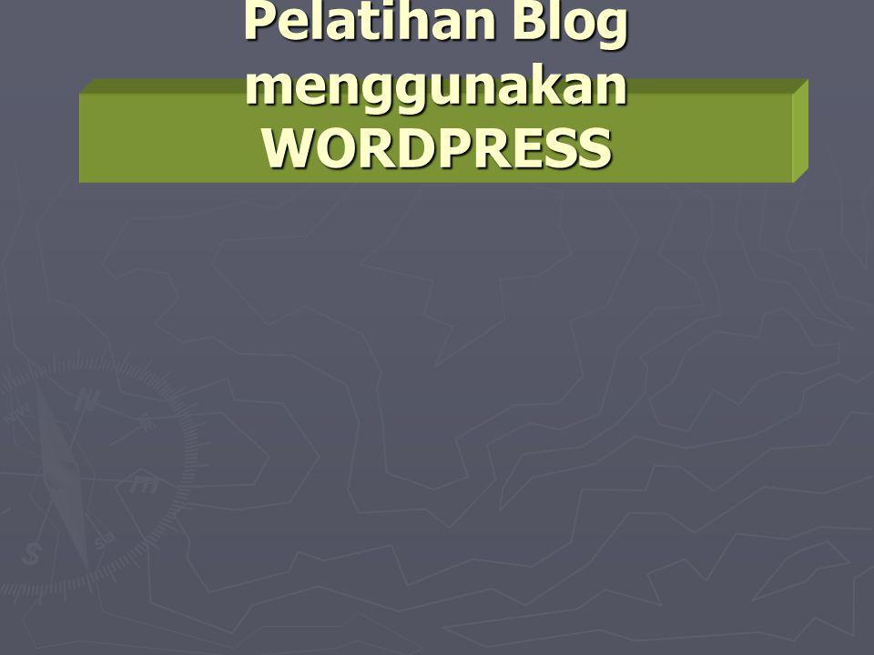 Jika aktivasi Blog dari E-mail berhasil…  Klik View your site untuk melihat tampilan awal website/blog.