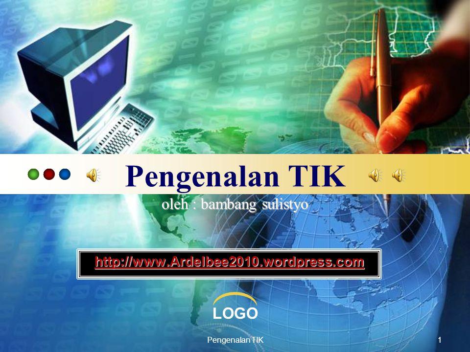 LOGO Pengenalan TIK12 E-mail untuk apa?