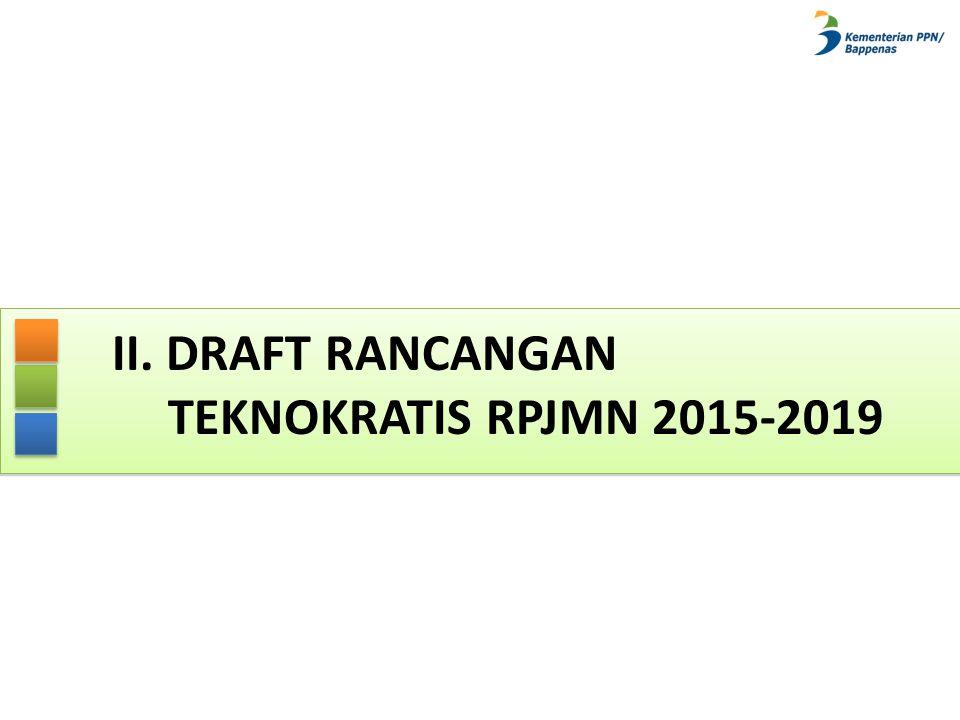II. DRAFT RANCANGAN TEKNOKRATIS RPJMN 2015-2019
