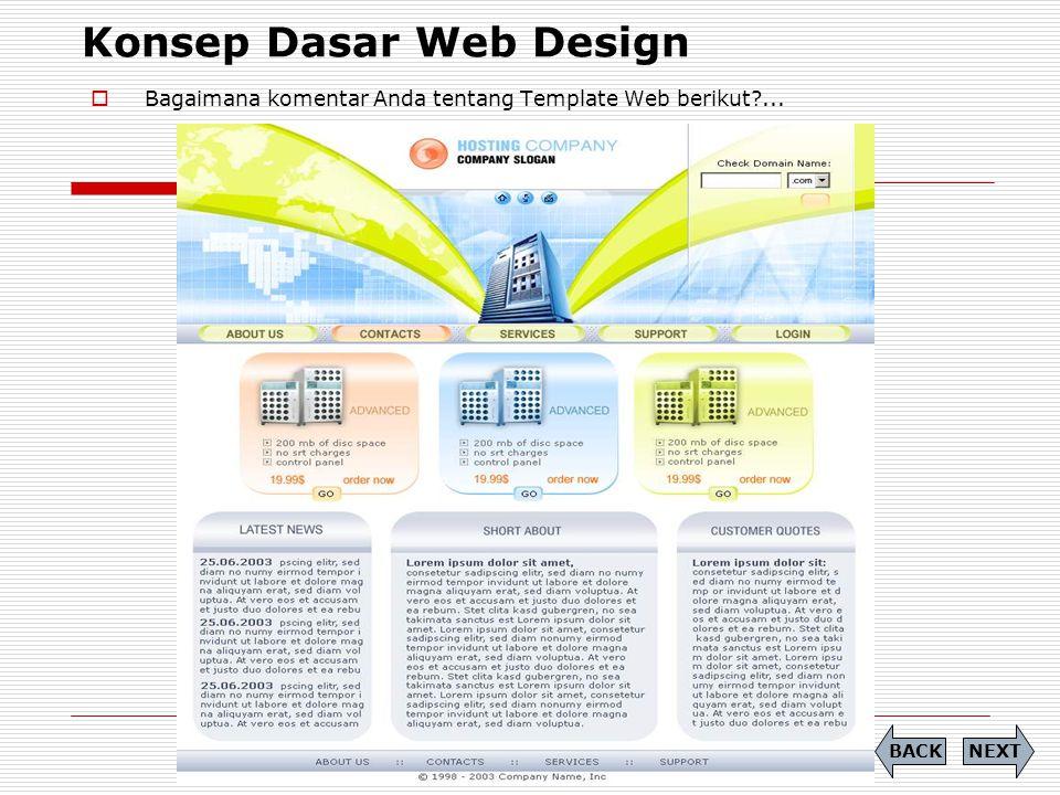 Tugas (1)  Mencari artikel dengan tema Design Web  Pelajari dengan seksama artikel yang Anda dapatkan NEXTBACK