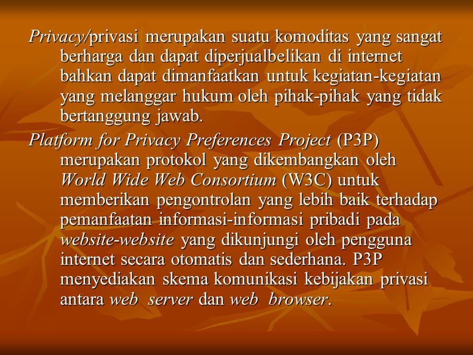  Secara sederhana cara kerja P3P dapat dijelaskan sebagai berikut:  1.