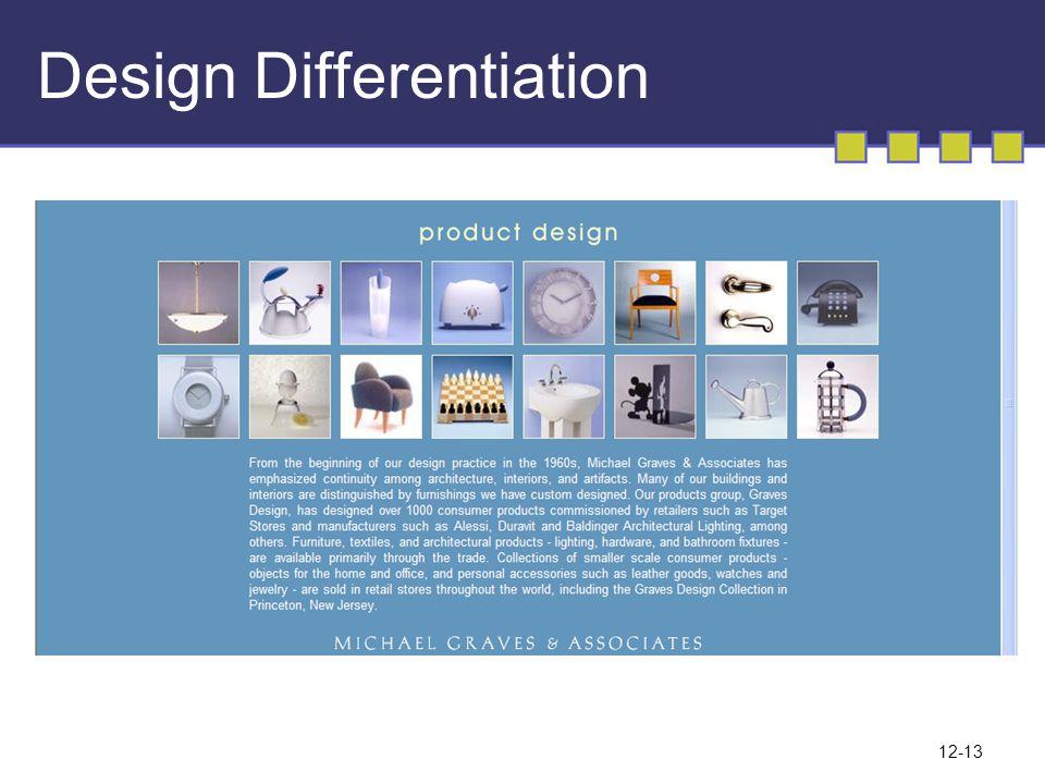 12-13 Design Differentiation
