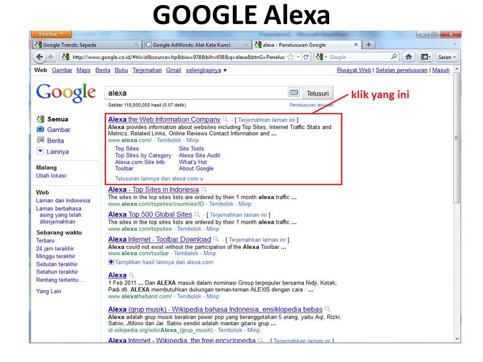 GOOGLE Alexa