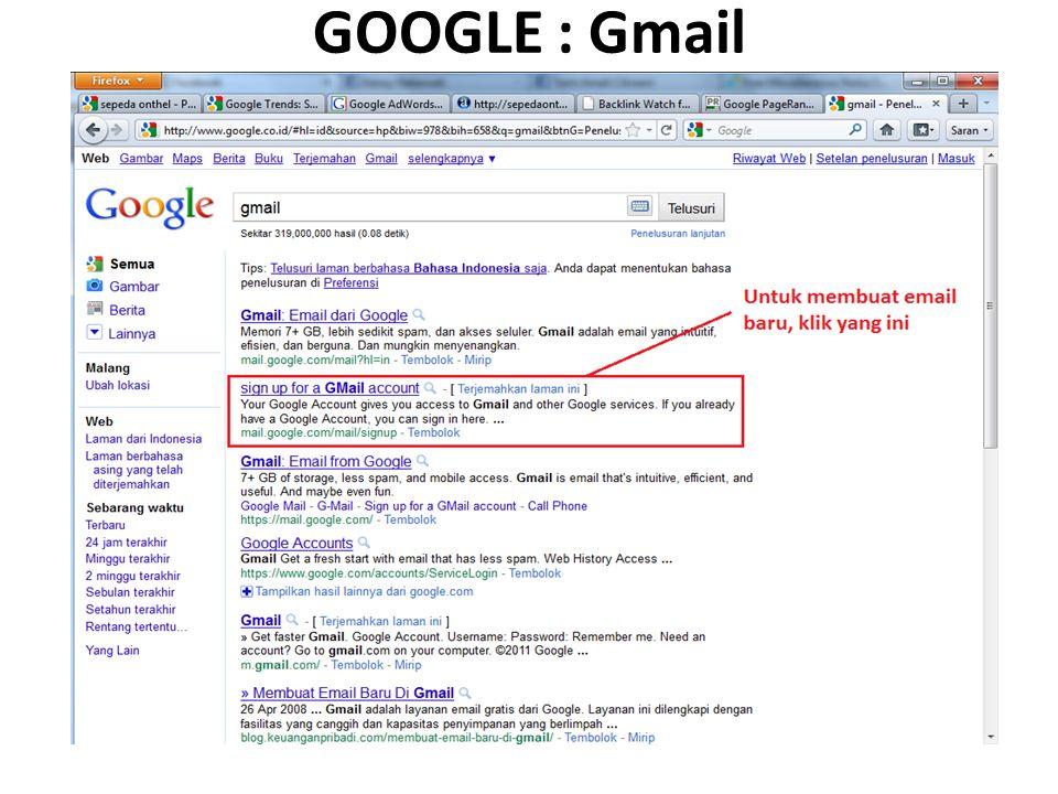 GOOGLE : Gmail