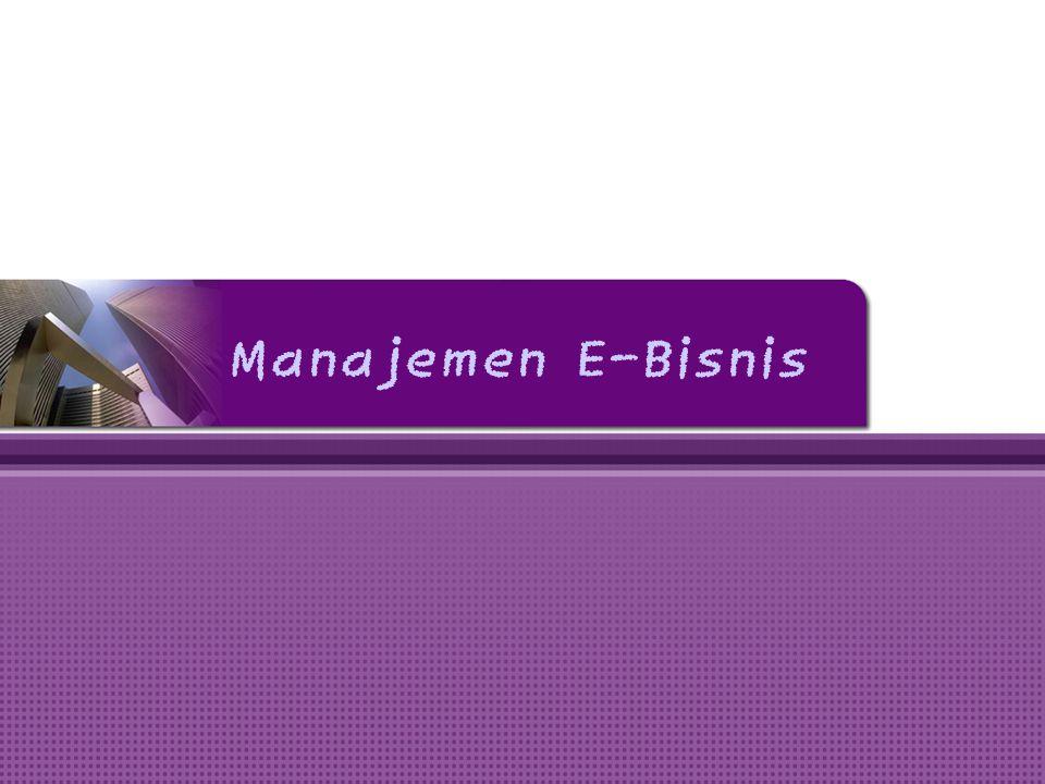 Manajemen E-Bisnis