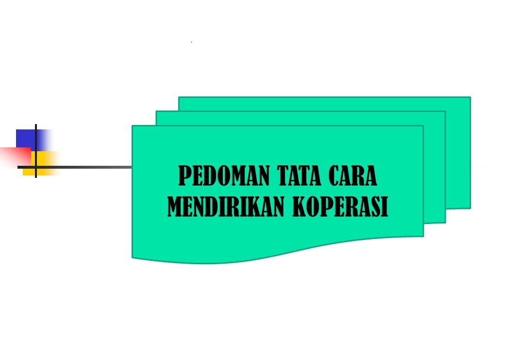 Pendahuluan  Suatu koperasi hanya dapat didirikan bila memenuhi persyaratan dalam mendirikan koperasi.