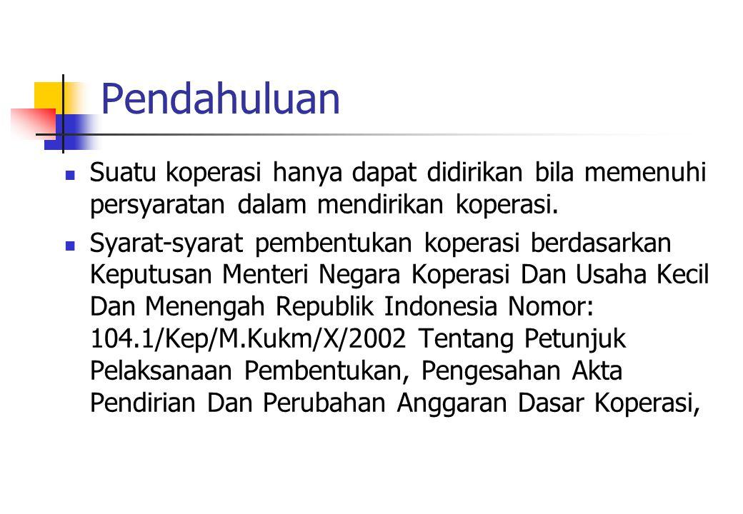  Hak-hak anggota koperasi 1.