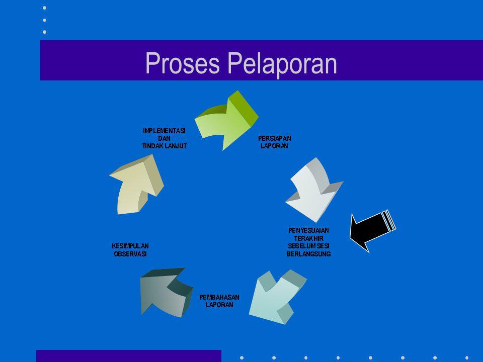 Proses Pelaporan