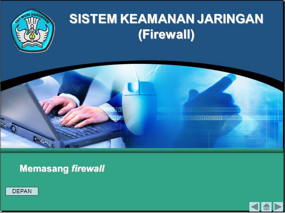Pada firewall terjadi beberapa proses yang memungkinkannya melindungi jaringan. Ada tiga macam Proses yang terjadi pada firewall, yaitu: 1.Modifikasi