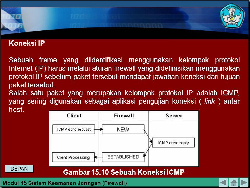 Koneksi TCP Sebuah koneksi TCP dikenal sebagai koneksi yang bersifat Connection Oriented yang berarti sebelum melakukan pengiriman data, mesin-mesin t