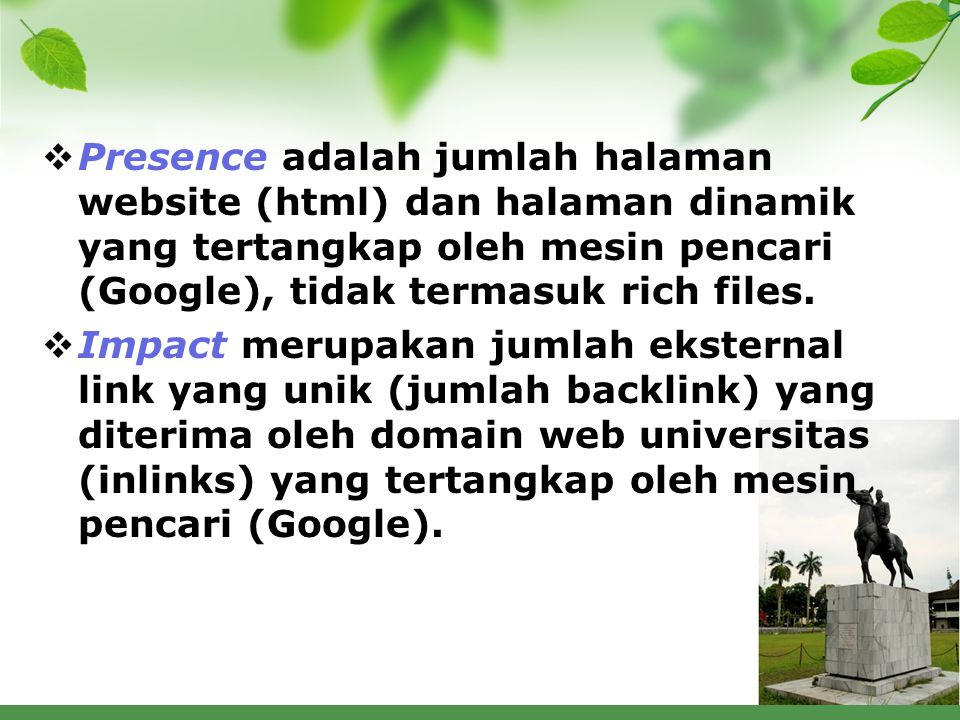 Google Scholar inclusion checklist  Your website has a separate URL for each article, as well as a browse interface that lists all article URLs.