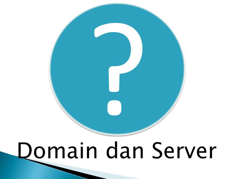 Domain dan Server
