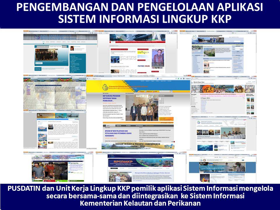 Website KKP Sebagai Pintu Gerbang Data dan Informasi Kementerian Kelautan dan Perikanan