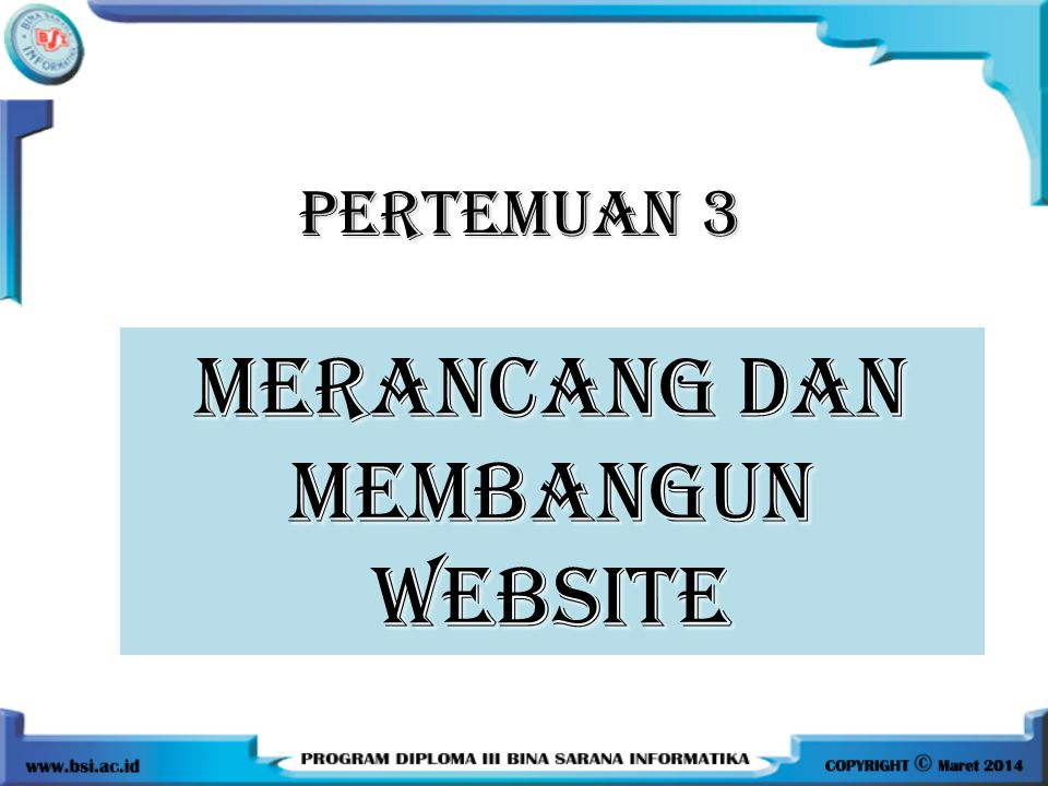 7 Aturan Merancang Website 1.Just because you can doesn't mean you should.