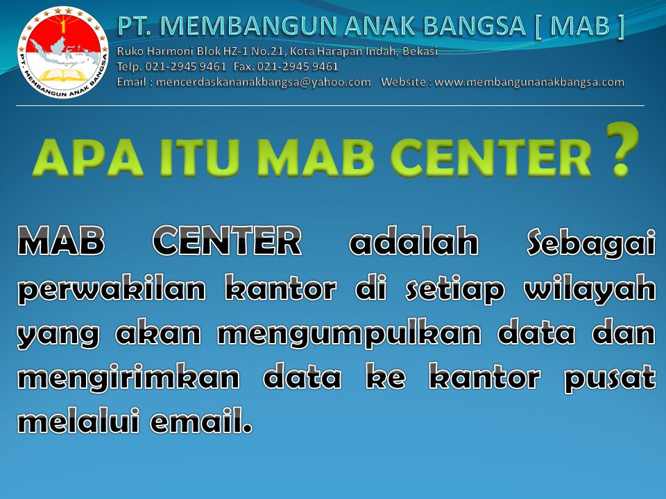 MAB CENTER