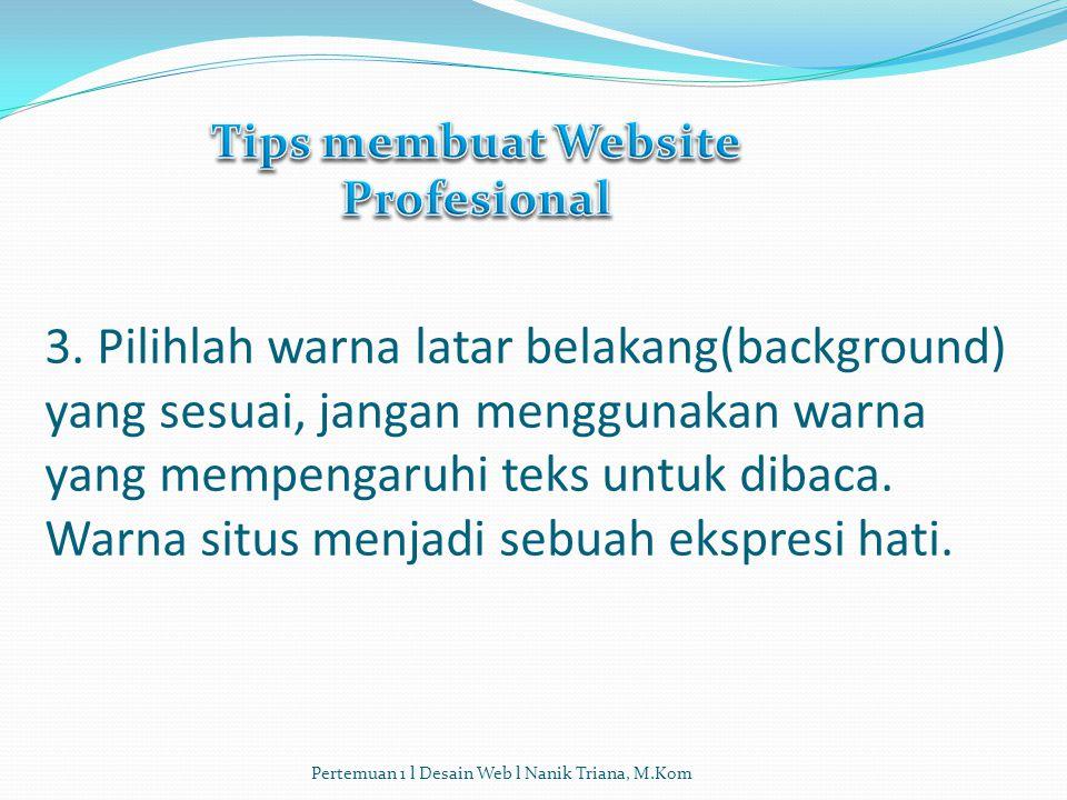 2. Pastikan menyertakan META Tag pada masing -masing halaman website Anda. META Tag adalah kode yang memungkinkan search engine (mesin pencari seperti