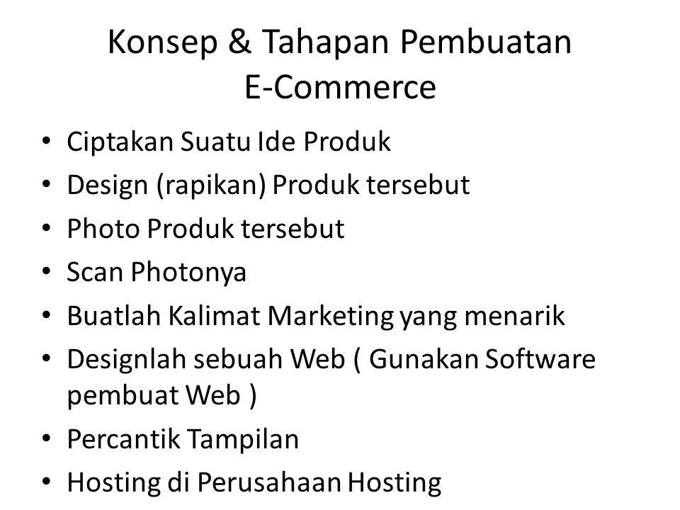 • Ciptakan Suatu Ide Produk • Design (rapikan) Produk tersebut • Photo Produk tersebut • Scan Photonya • Buatlah Kalimat Marketing yang menarik • Desi