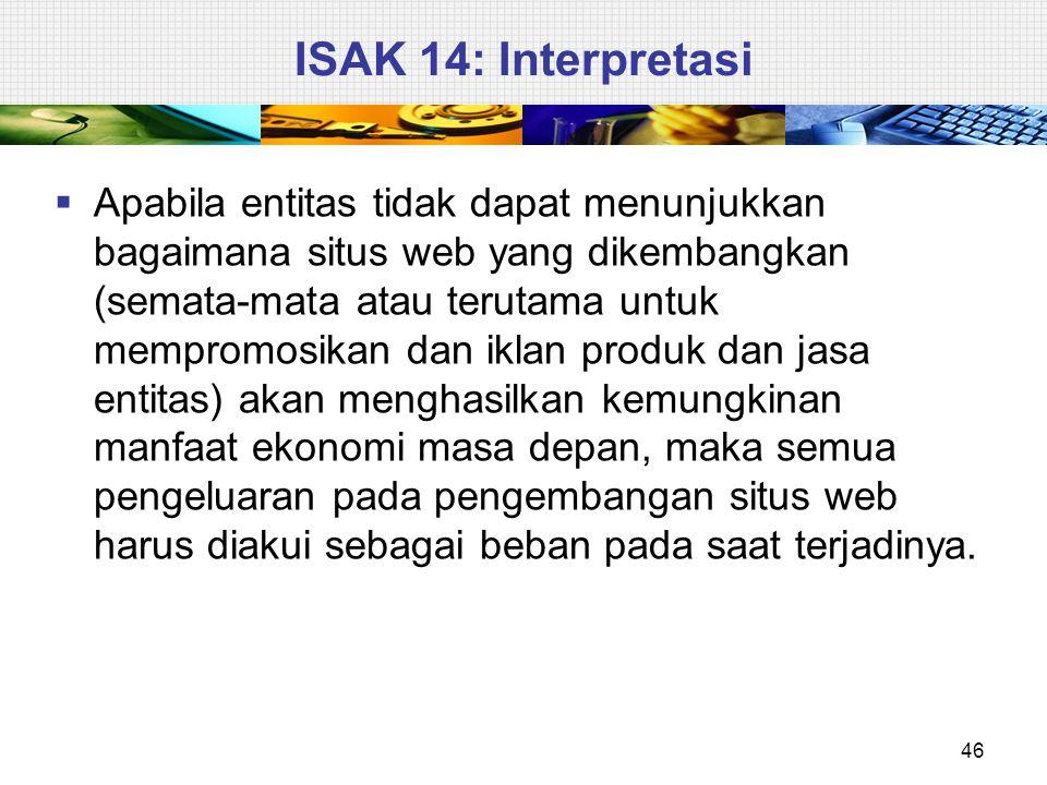  Entitas menerapkan Interpretasi ini untuk periode tahun buku yang dimulai pada atau setelah 1 Januari 2011.