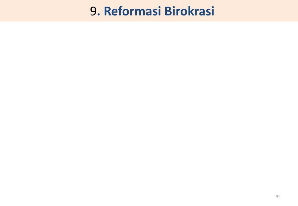 9. Reformasi Birokrasi 91