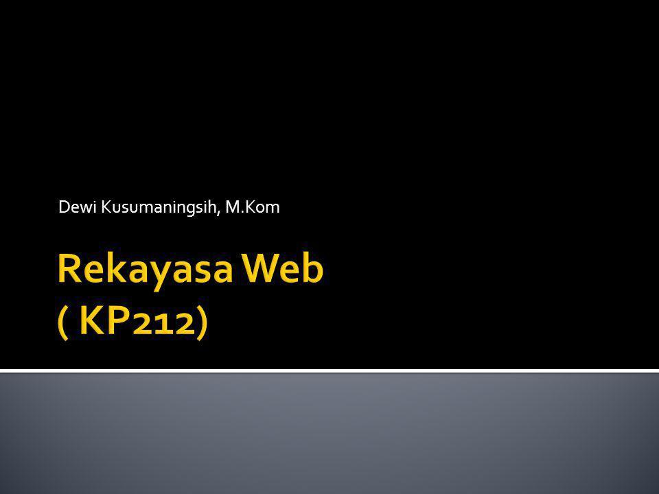 Dewi Kusumaningsih, M.Kom