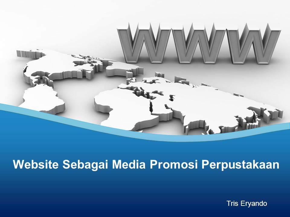 Website Sebagai Media Promosi Perpustakaan Tris Eryando