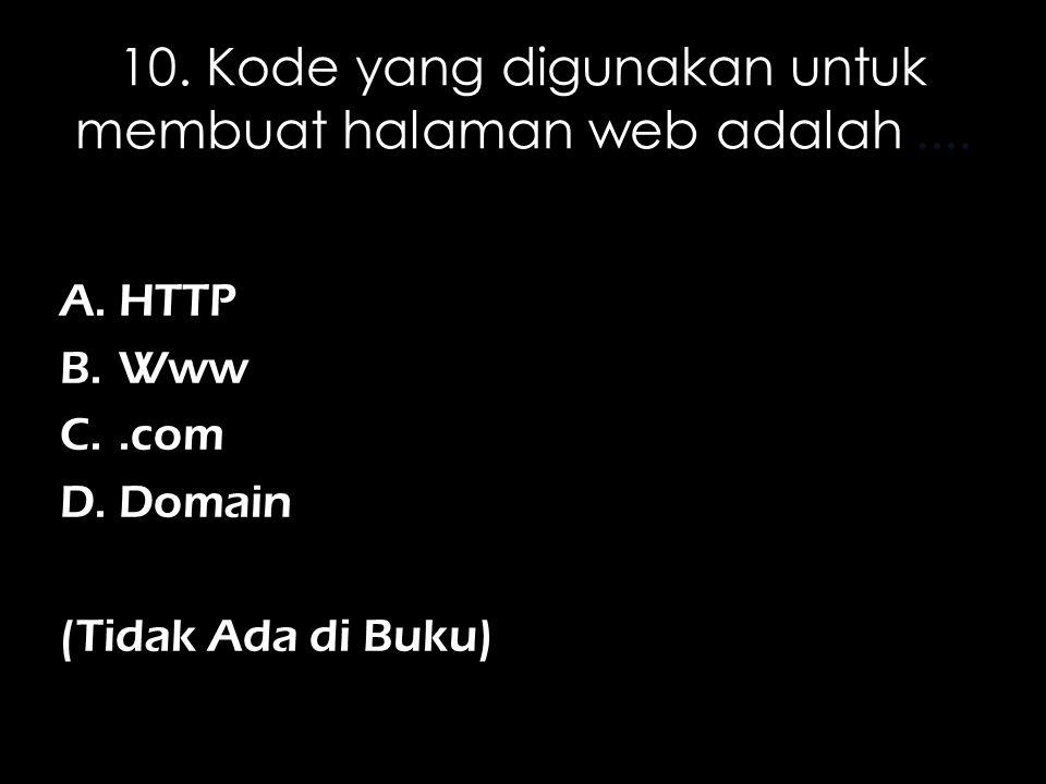 6.Nama domain adalah suatu alamat URL yang digunakan untuk....