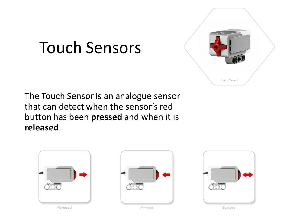 Ultrasonic Sensor The Ultrasonic Sensor is a digital sensor that can measure the distance to an object in front of it.