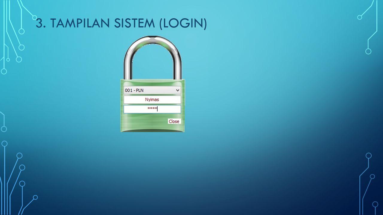 3. TAMPILAN SISTEM (LOGIN WEBSITE)