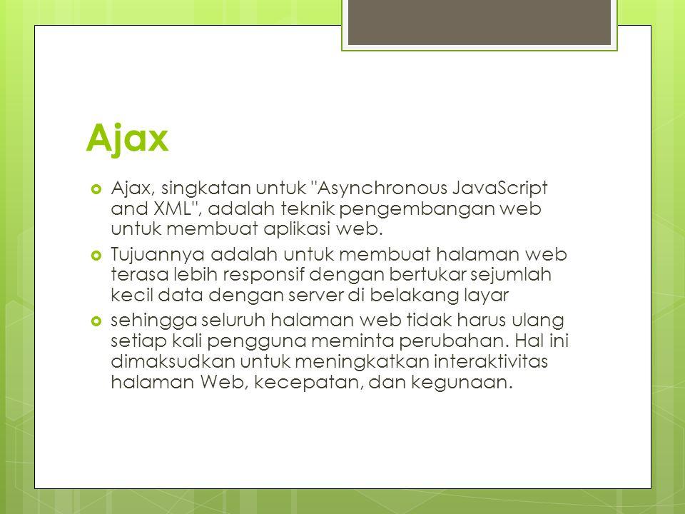 Ajax  Ajax, singkatan untuk