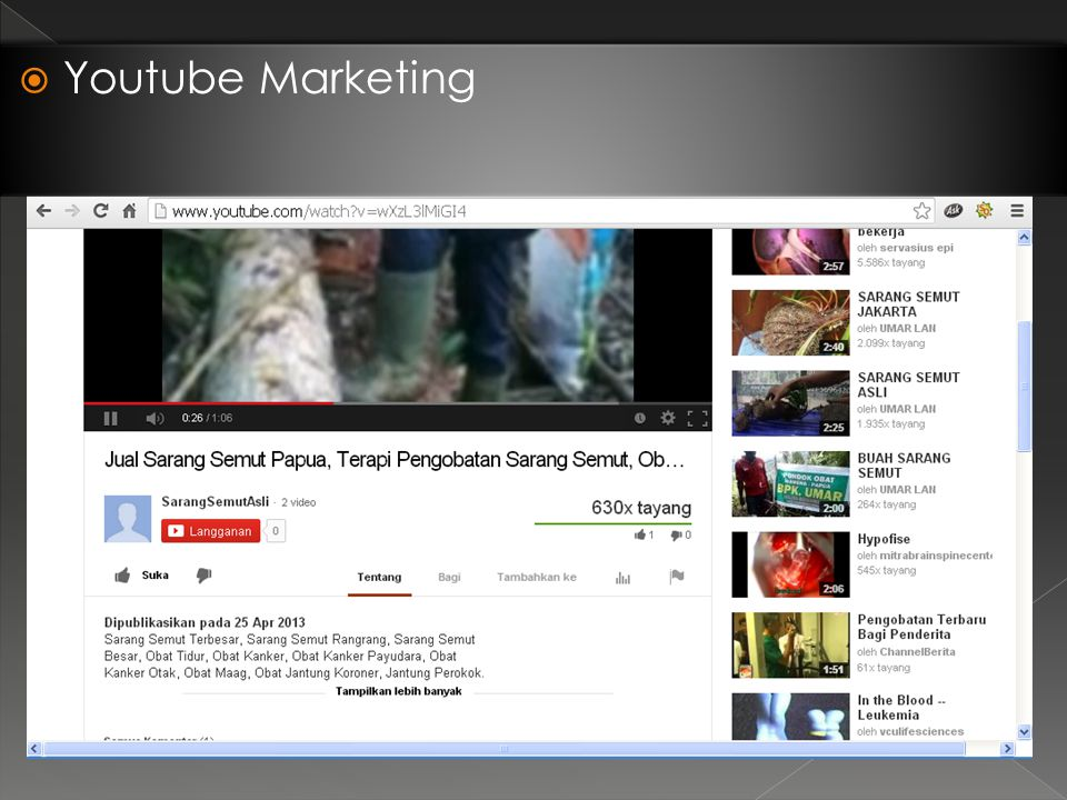  Youtube Marketing