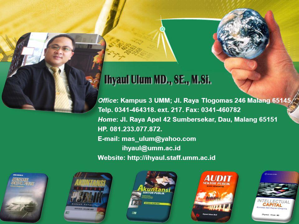 Office: Kampus 3 UMM; Jl.Raya Tlogomas 246 Malang 65145.