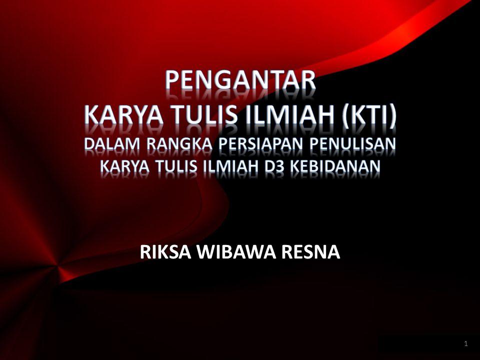 RIKSA WIBAWA RESNA 1