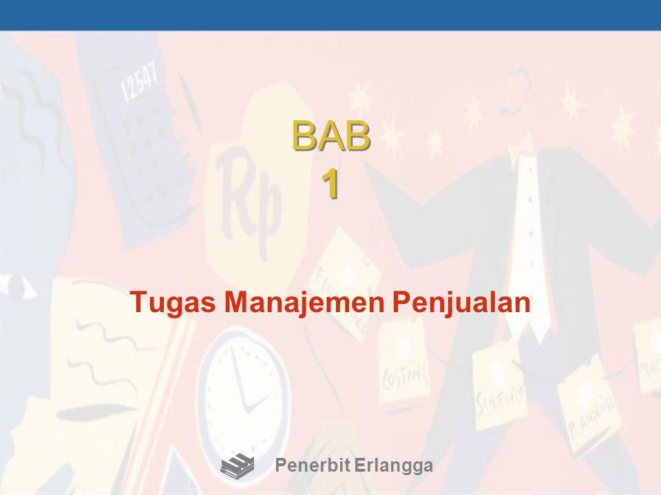 BAB 1 Tugas Manajemen Penjualan Penerbit Erlangga