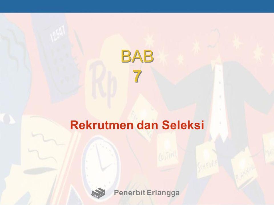 BAB 7 Rekrutmen dan Seleksi Penerbit Erlangga