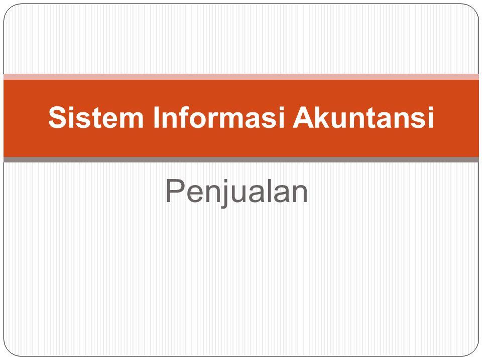 Penjualan Sistem Informasi Akuntansi
