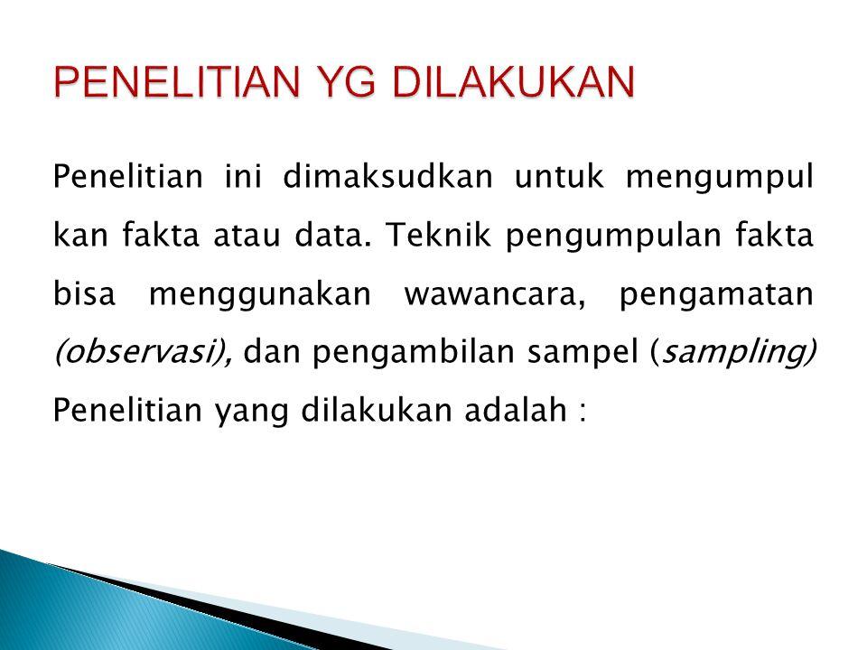 Tanggal Pelaksanaan Kegiatan Penelitian Lokasi /Tempat PenelitiYg Diwawan- carai 11-4-2013Wawancara penanganan order Order Penjualan Dr.