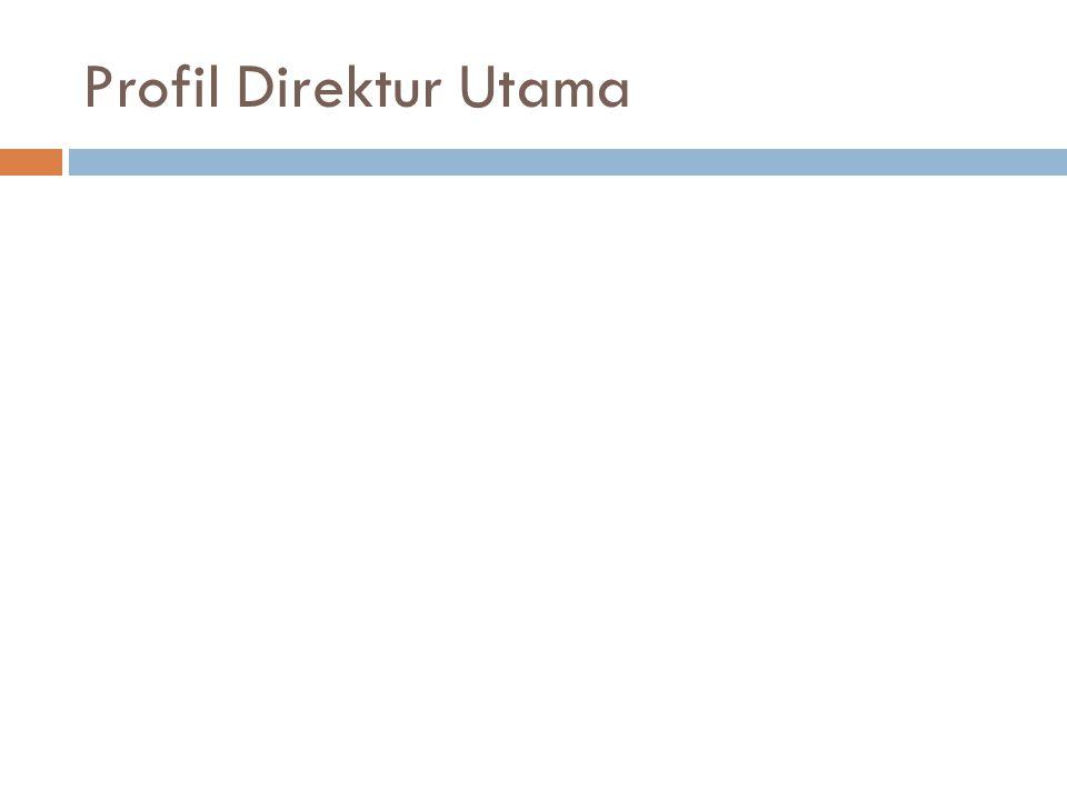 Profil Direktur Utama