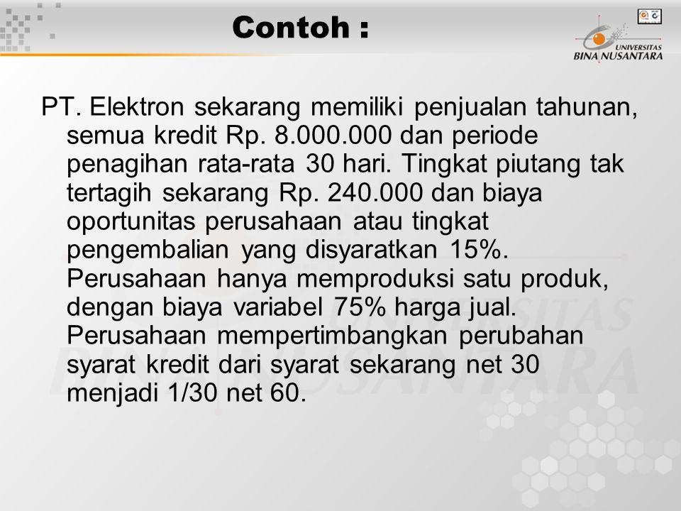 Jawabannya adalah Jika kenaikan penjualan yg menghasilkan laba > dari kenaikan biaya perubahan.